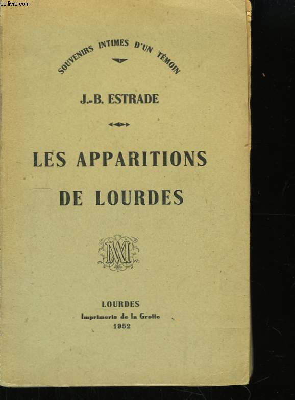 Les apparitions de Lourdes.