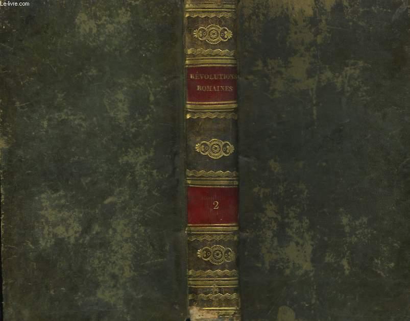 Histoire des Révolutions, arrivées dans le Gouvernement de la République Romaine. TOME 2nd