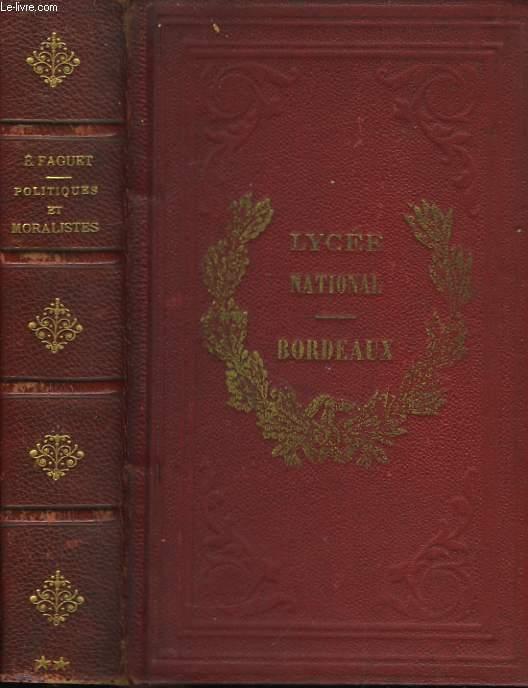 Politiques et Moralistes du XIXeme siècle. 2ème série.