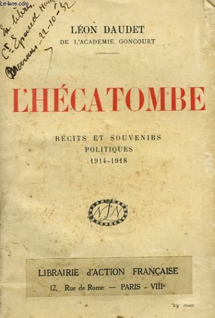 L'Hécatombe.