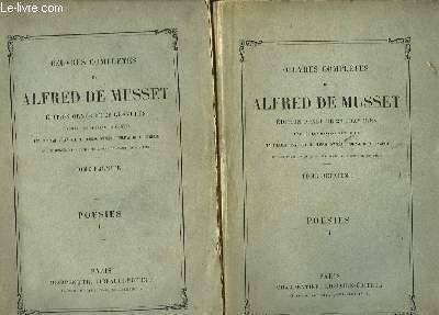 Oeuvres Complètes de Alfred de Musset. Poésies. En 2 TOMES