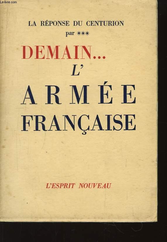 Demain ... l'Armée Française
