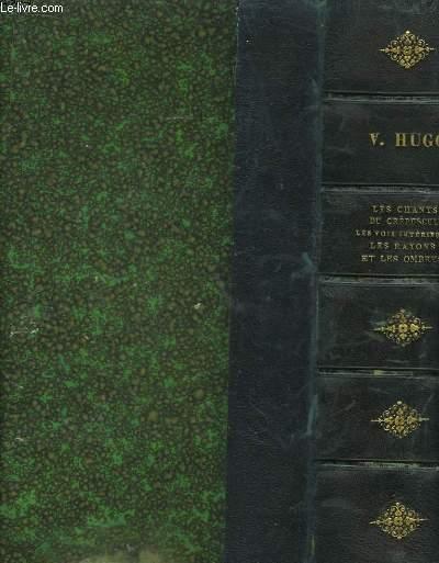 Oeuvres de V. Hugo. Edition Nationale. 9 VOLUMES SUR 10
