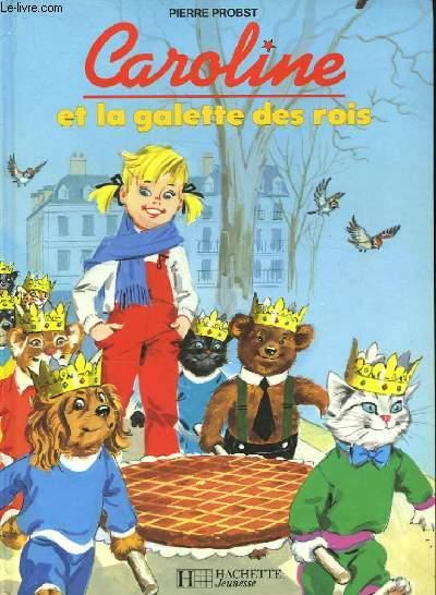 Caroline et la galette des rois.
