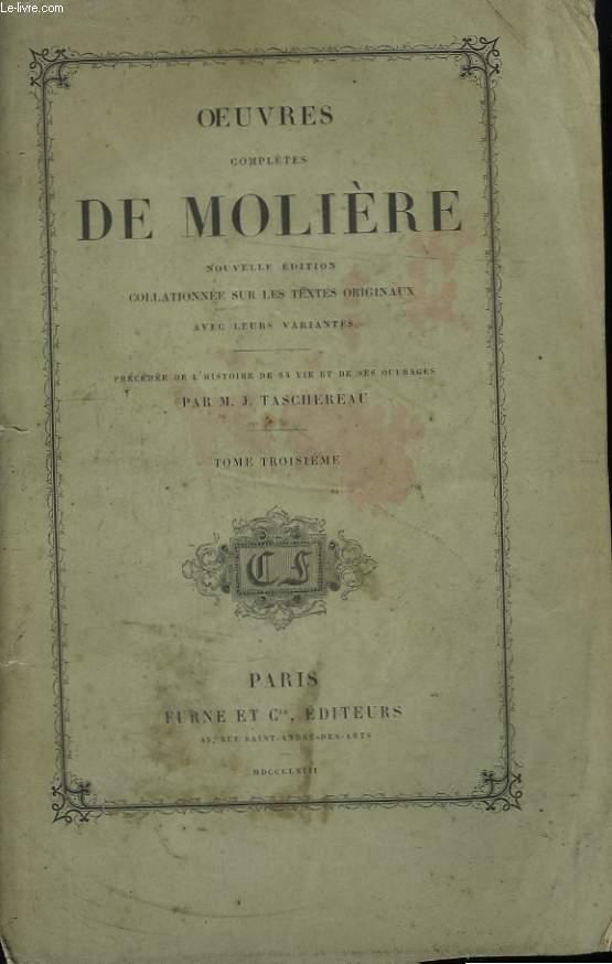 Oeuvres Complètes de Molière. TOME 3