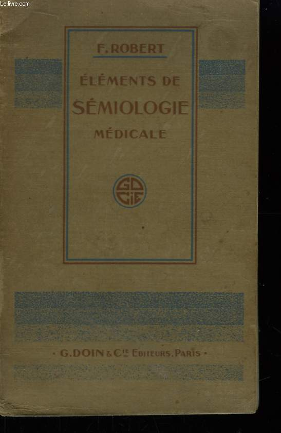 Eléments de Sémiologie Médicale
