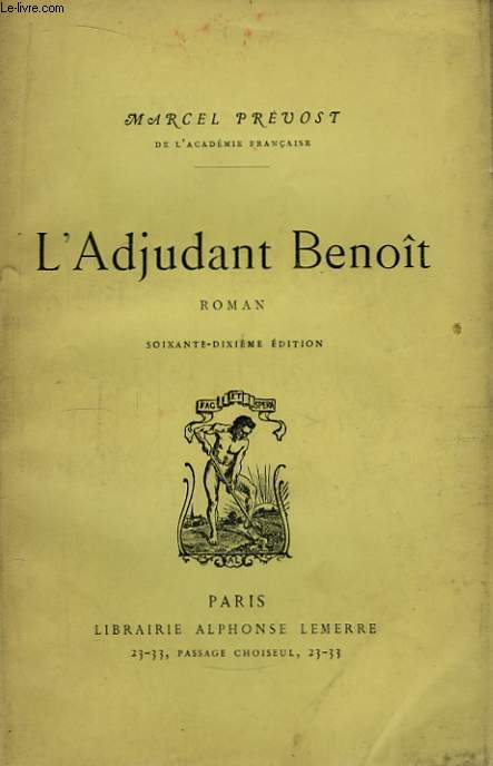 L'Adjudant Benoit.