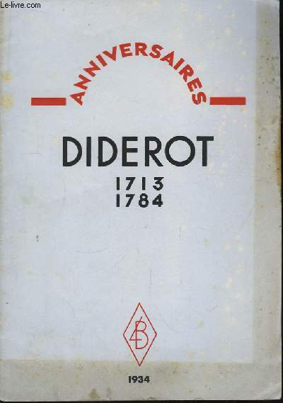 Diderot 1713 - 1784
