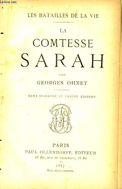La Comtesse Sarah.