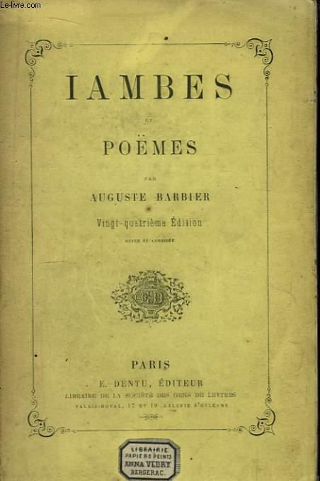 Iambes et Poëmes.