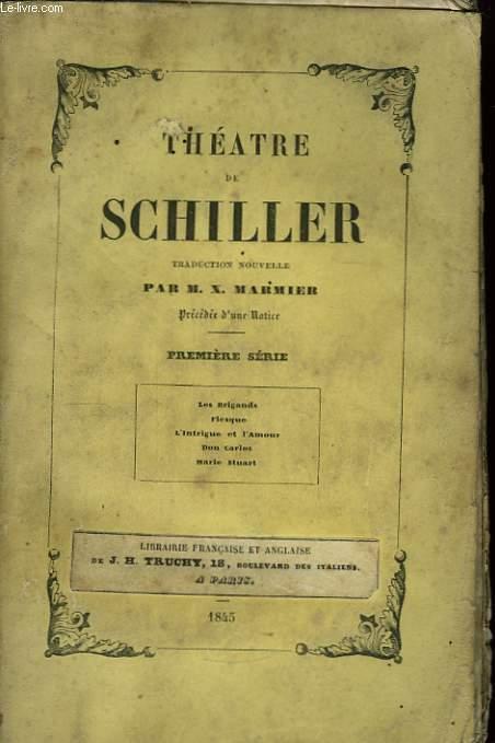 Théâtre de Schiller. 1ère série