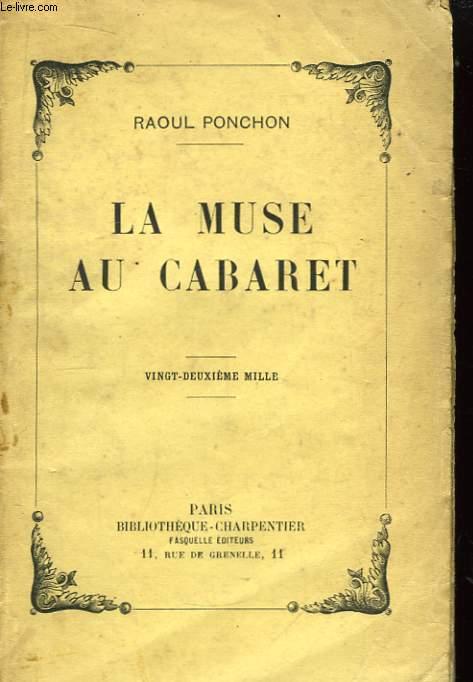 La Muse au Cabaret.