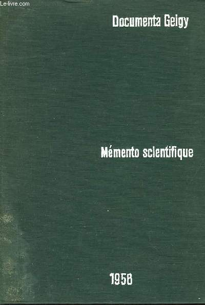 Mémento Scientifique.