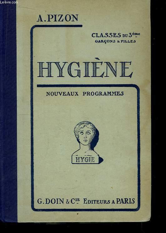 Leçons d'Hygiène.