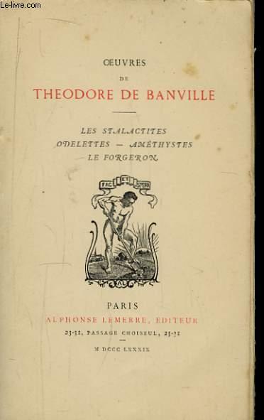 Oeuvres de Théodore de Banville