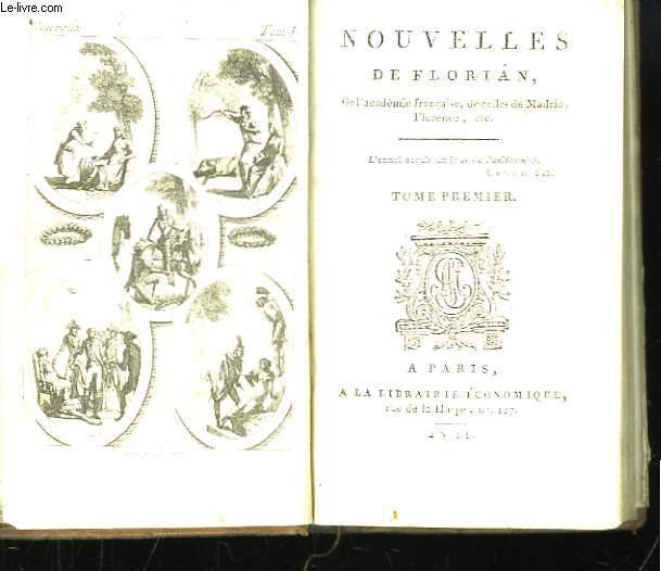 Nouvelles de Florian. TOME Ier