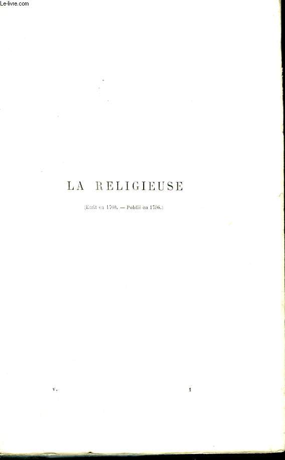 Oeuvres Complètes de Diderot. TOME V
