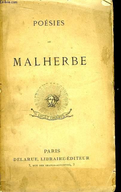 Poésies de Malherbe.