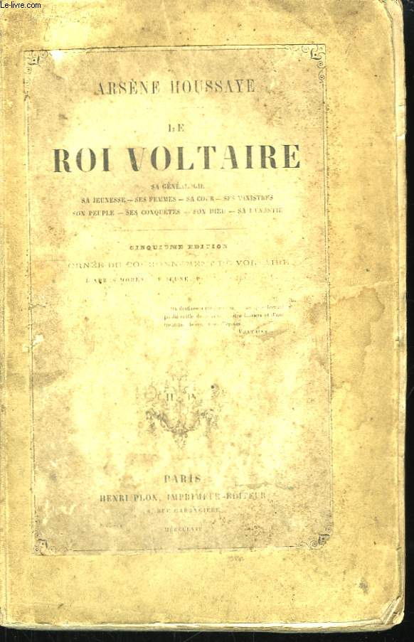 Le Roi Voltaire.
