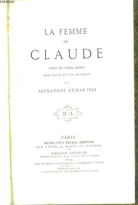 La Femme de Claude.