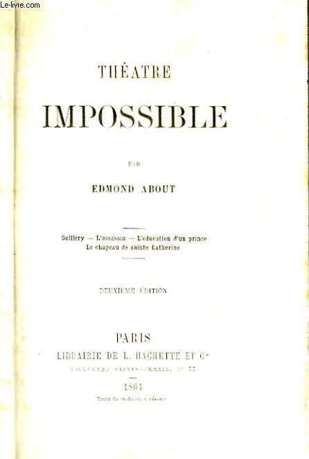 Théâtre Impossible.