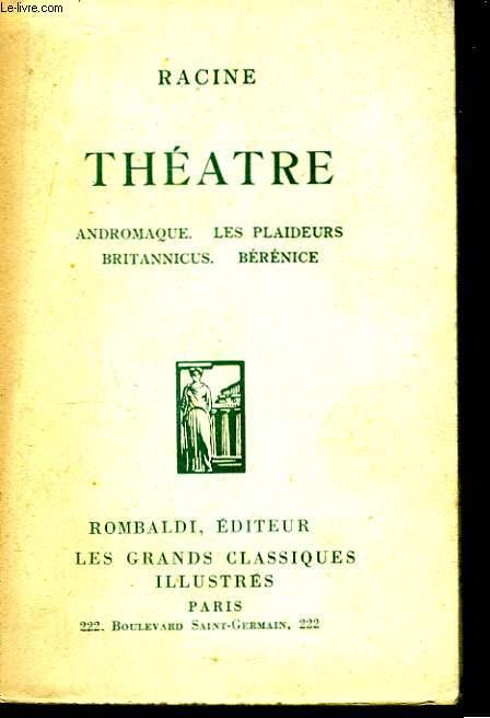 Théâtre.