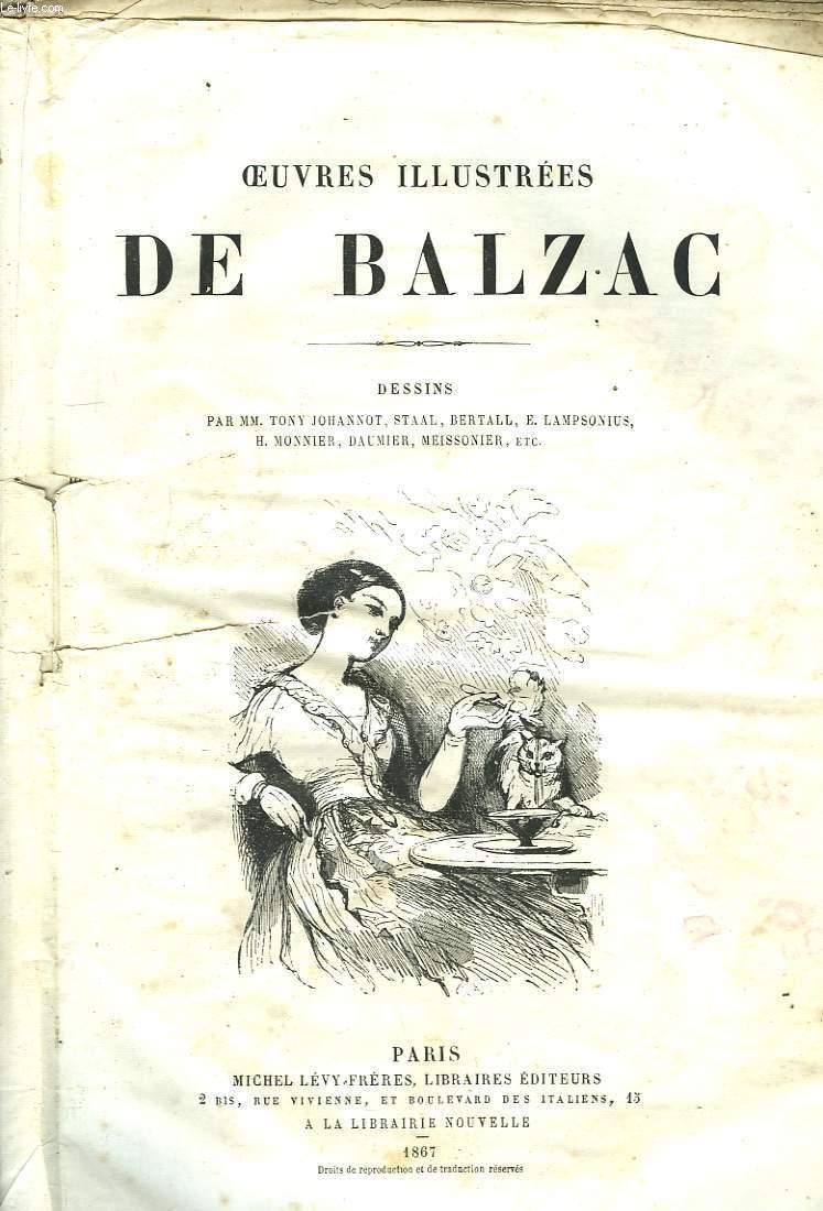 Oeuvres Illustrées de Balzac. TOME V
