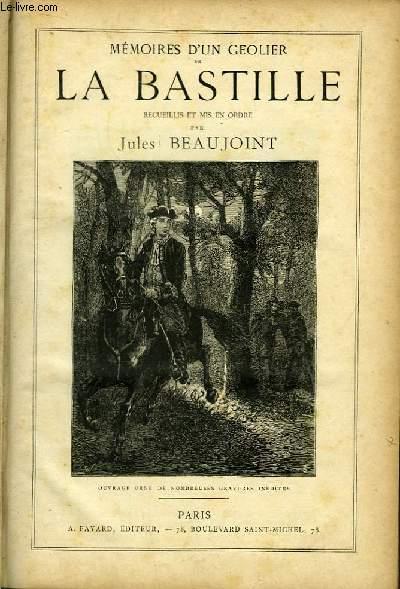 Mémoires d'un Geolier de La Bastille.