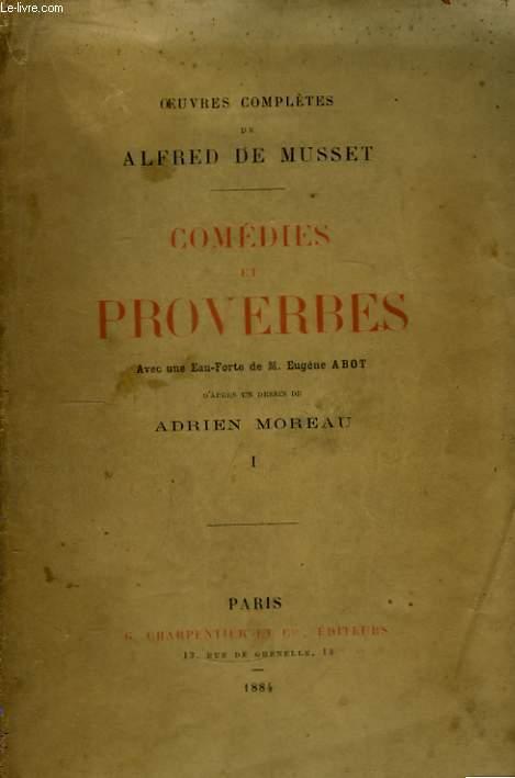Comédies et Proverbes. En 3 TOMES