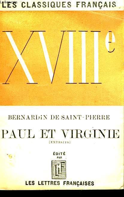 Paul et Virginie (Extraits)