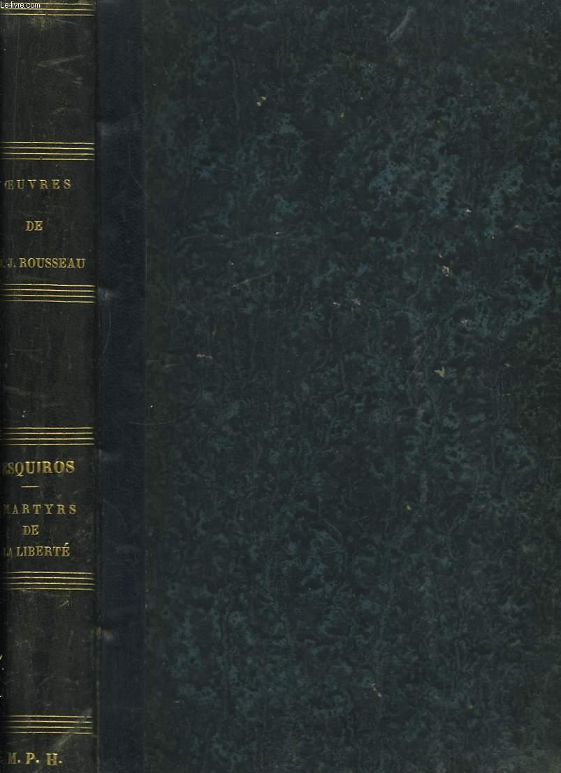 Oeuvres Illustrées de J.J. Rousseau.