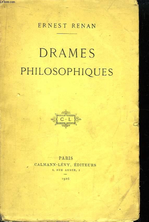 Drames Philosophiques.