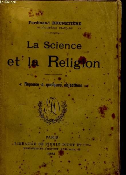 La Science et la religion.