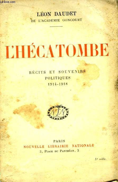 L'Hécatombe