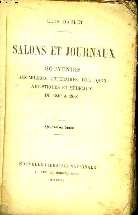 Salons et Journaux.
