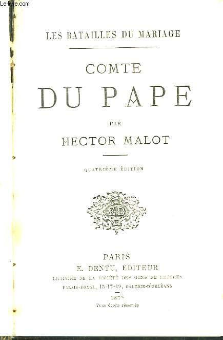Comte du Pape.