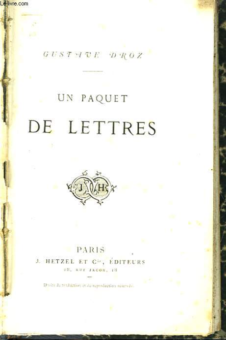Un paquet de Lettres