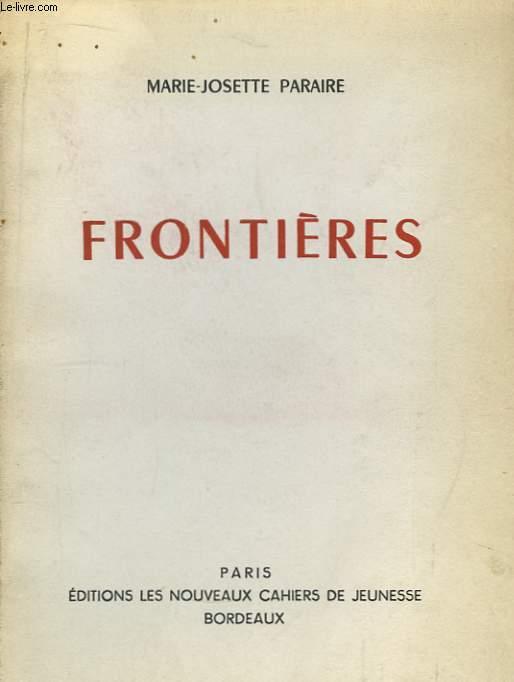 Frontières.