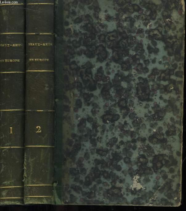 Les Beaux-Arts en Europe, 1855. En 2 TOMES