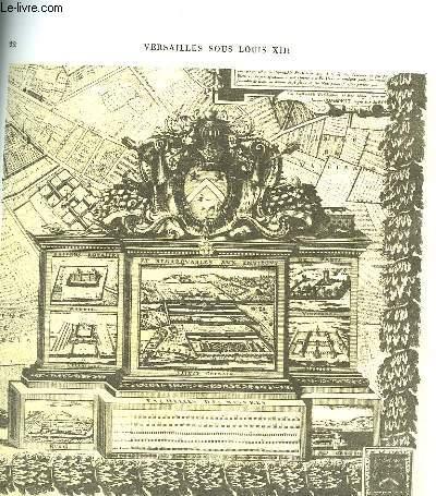 Histoire du Château de Versailles. Fascicule 1