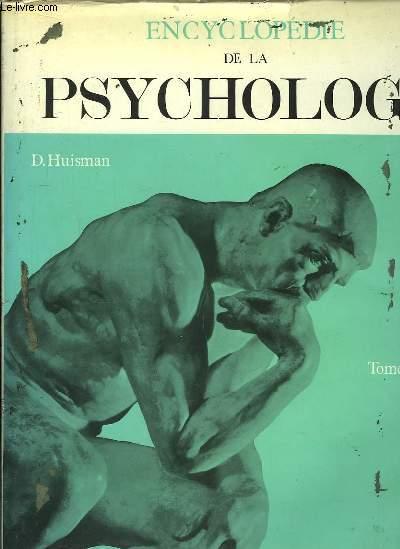 Encyclopédie de la Psychologie. TOME II