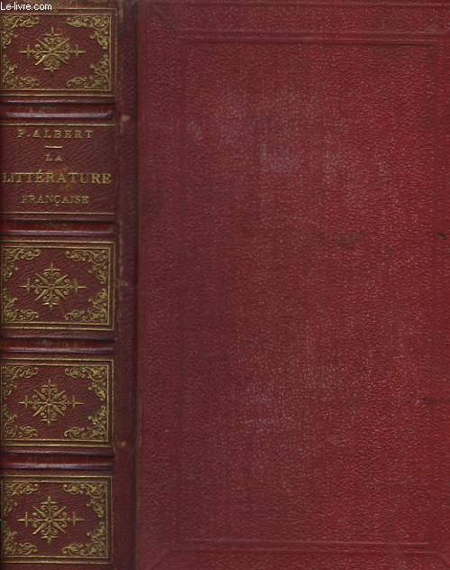 La Littérature Française, des origines au XVIIe siècle.