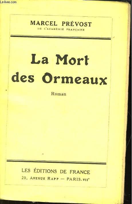 La Mort des Ormeaux.