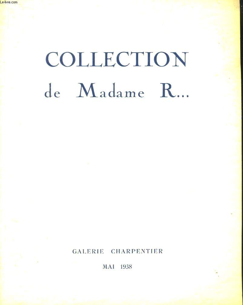 Collection de Madame R...