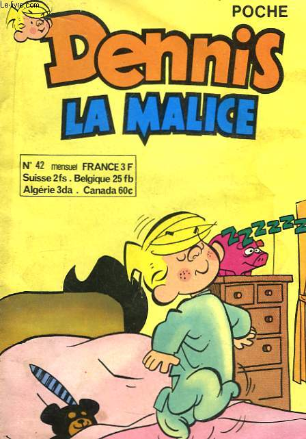 Dennis la Malice n°42.