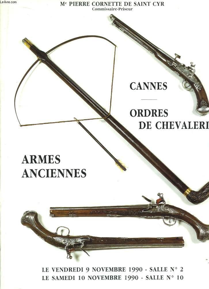 Catalogue des Ventes aux Enchères Publiques des 9 et 10 novembre 1990, à Drouot-Richelieu