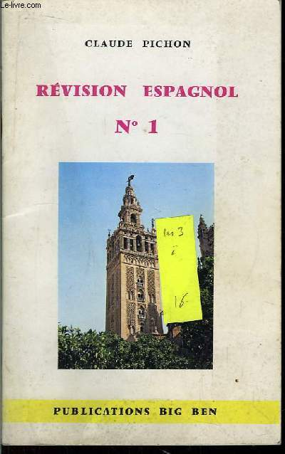 Révision Espagnol. N°1