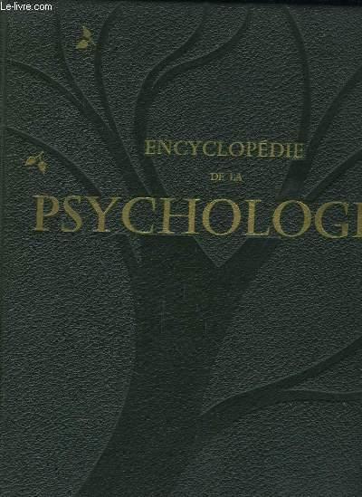 Encyclopédie de la Psychologie. TOME 1