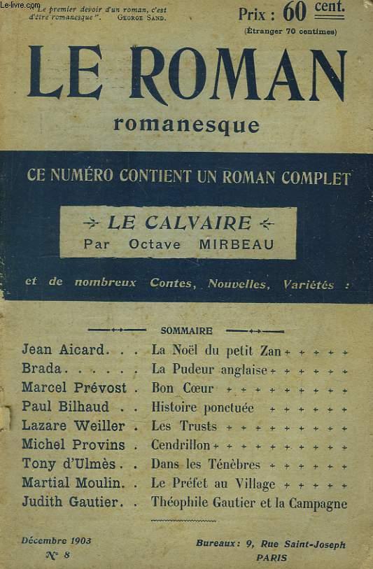 Le Roman Romanesque N°8 : Le Calvaire, par Octave Mirbeau.