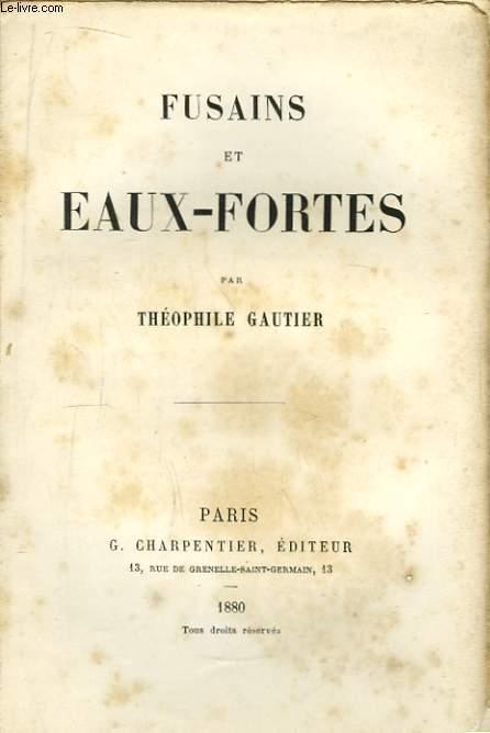 Fusains et Eaux-Fortes.